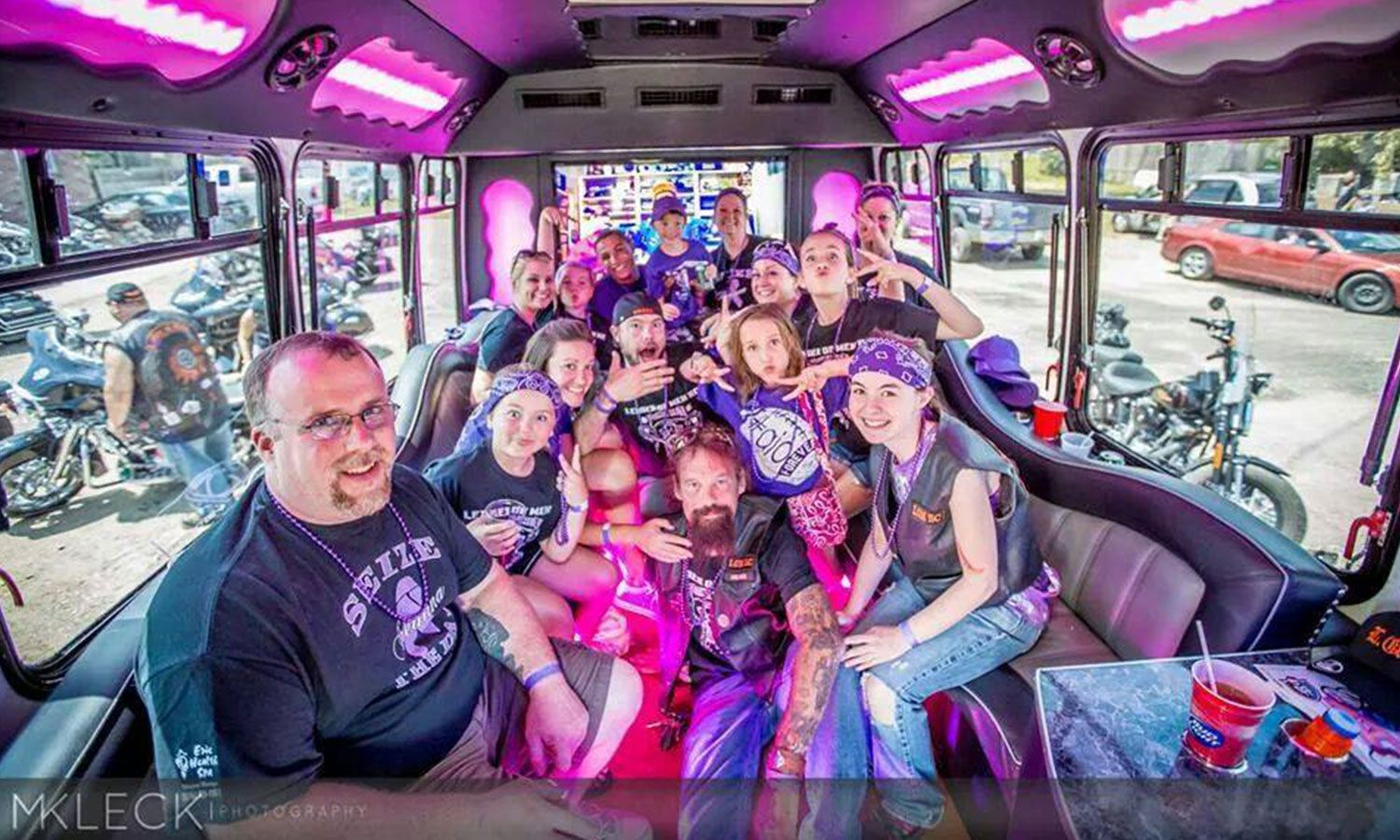 Hosting a Study Circle on a Party Bus